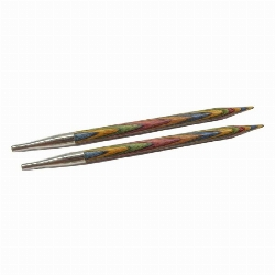 KNIT PICKS aiguilles circulaires interchangeables en bois Rainbow
