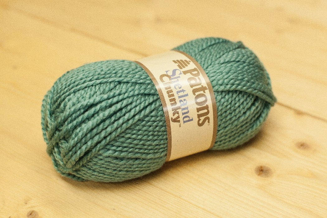 Shetland Chunky sarcelle douce
