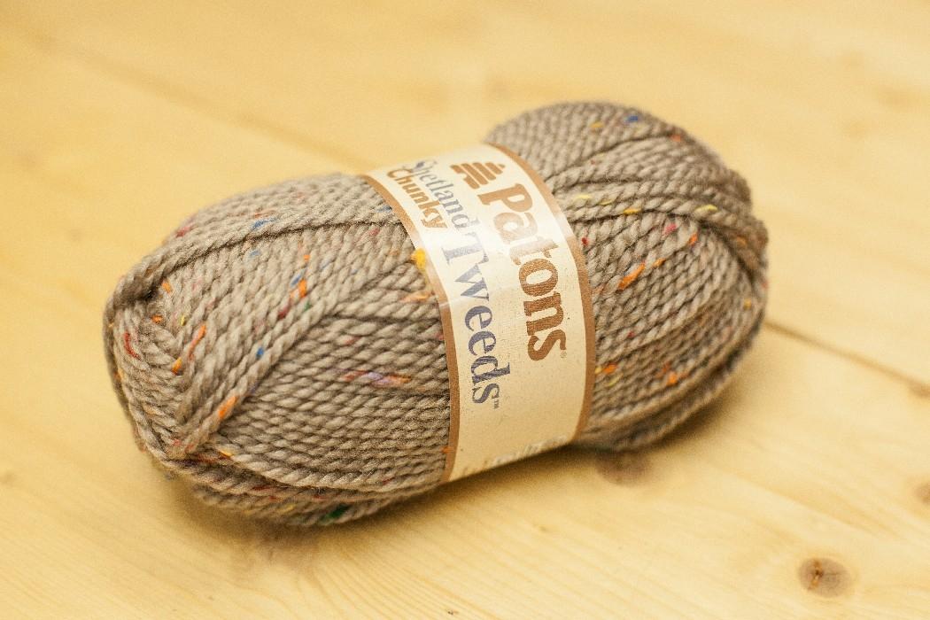 Shetland Chunky T. grillé tweed