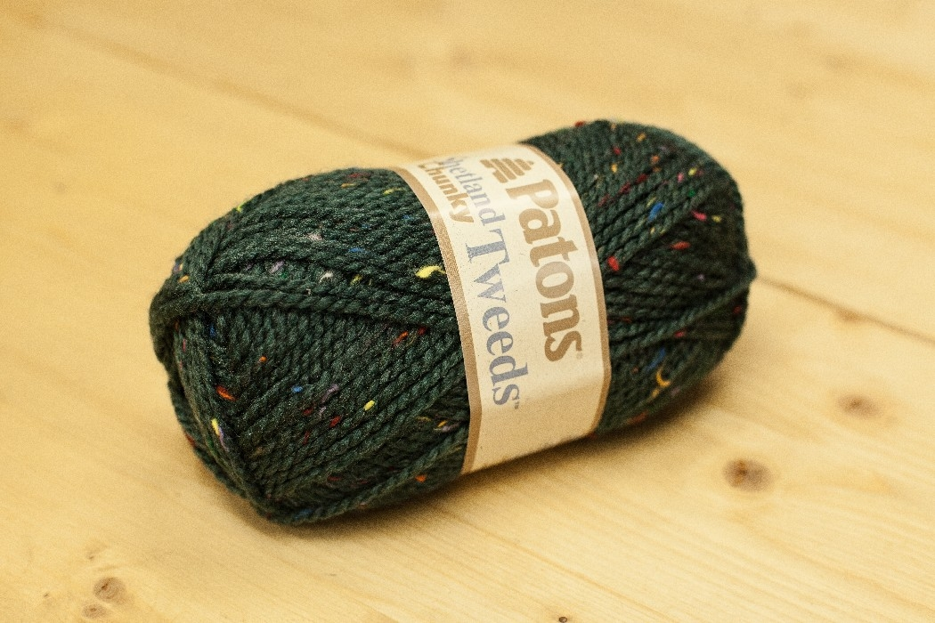 Shetland Chunky T. sarcelle riche tweed