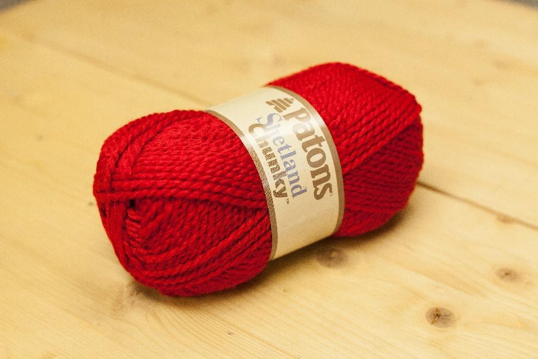 Shetland Chunky rouge rouge-gorge