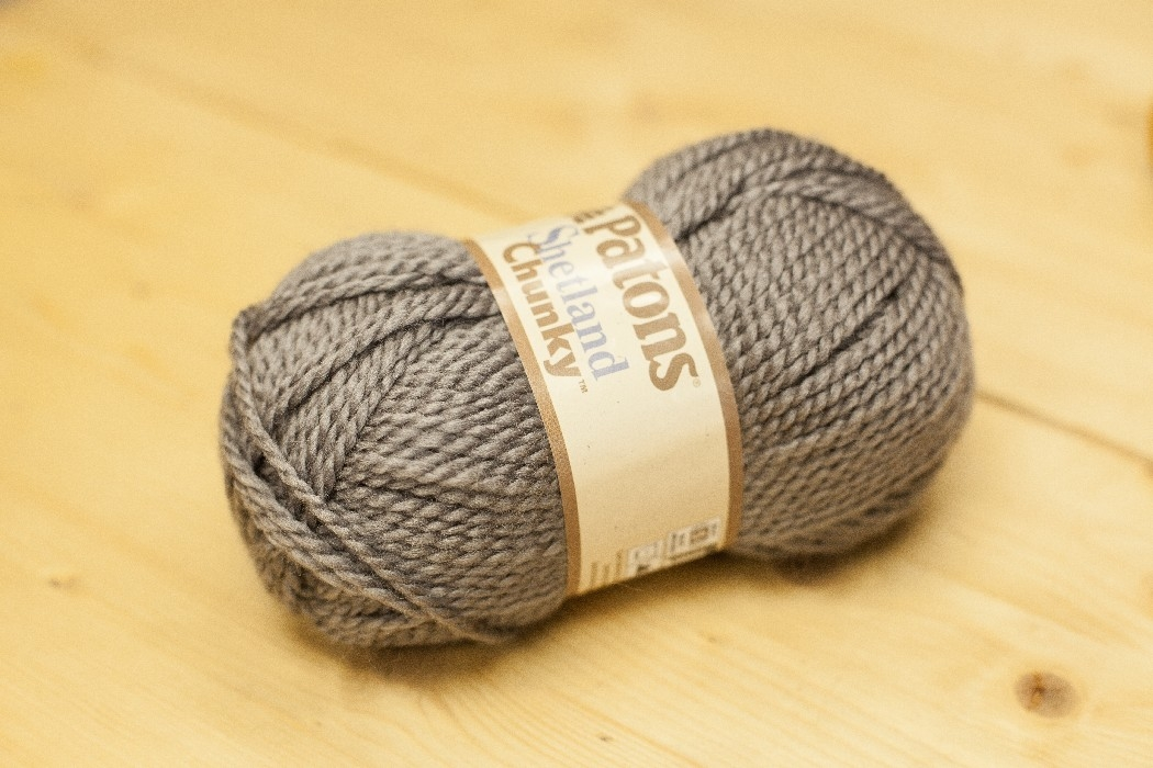 Shetland Chunky gris oxford