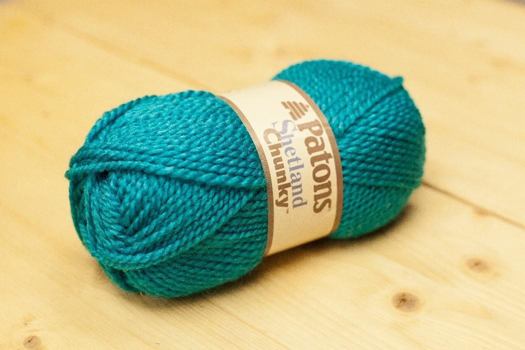 Shetland Chunky paon véritable