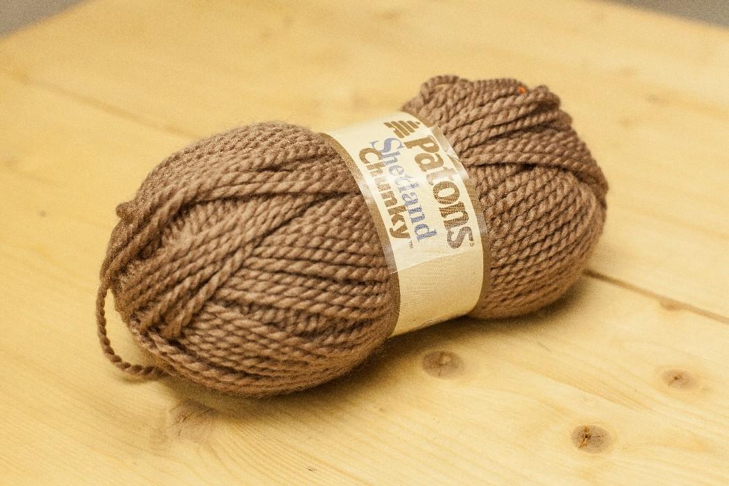 Shetland Chunky taupe