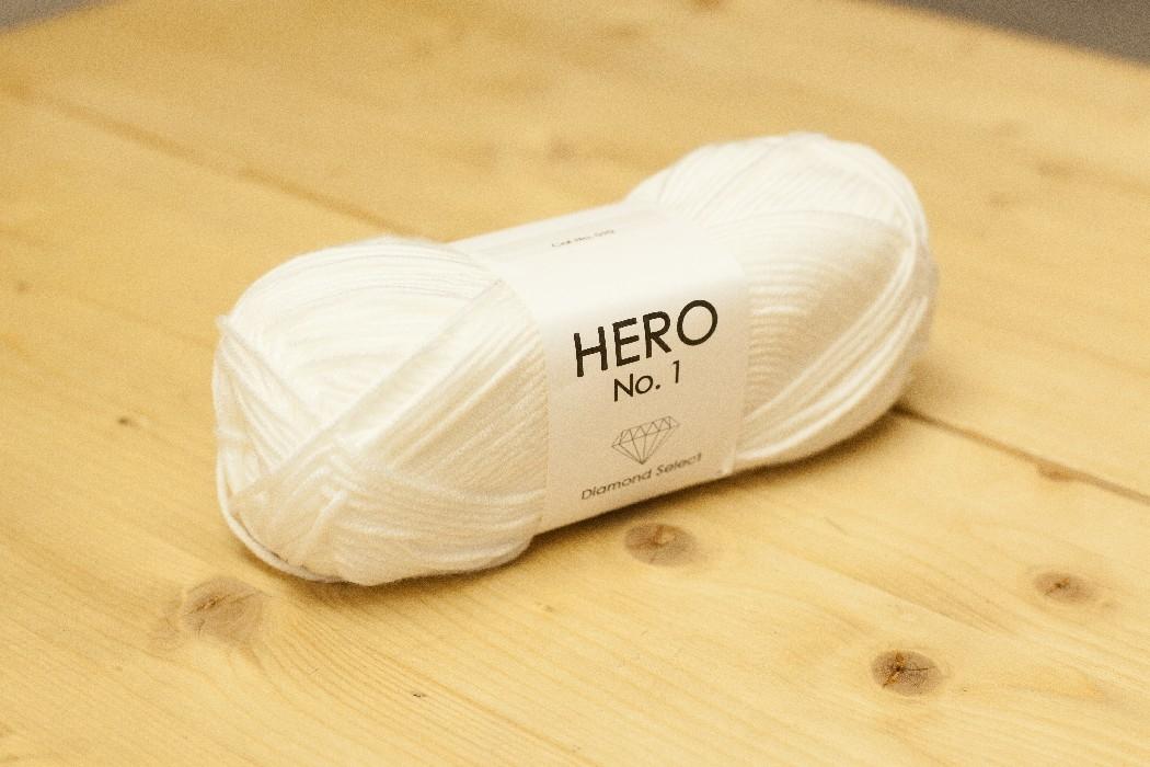 HERO No.1  blanc