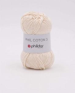 Phil coton 3 écru