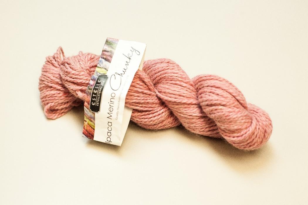 Alpaca Mérino Chunky brun 233