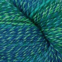 Superwash wave blue green