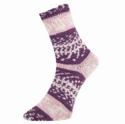 Fjord socks plum 188