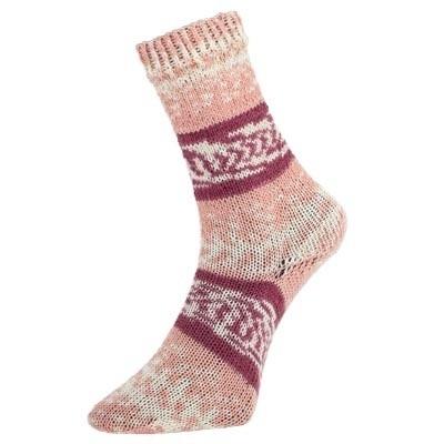 Fjord socks bordeaux 189