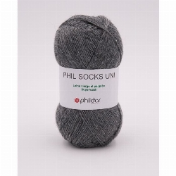 Phil socks uni aluminium