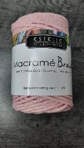 Macramé braid rose