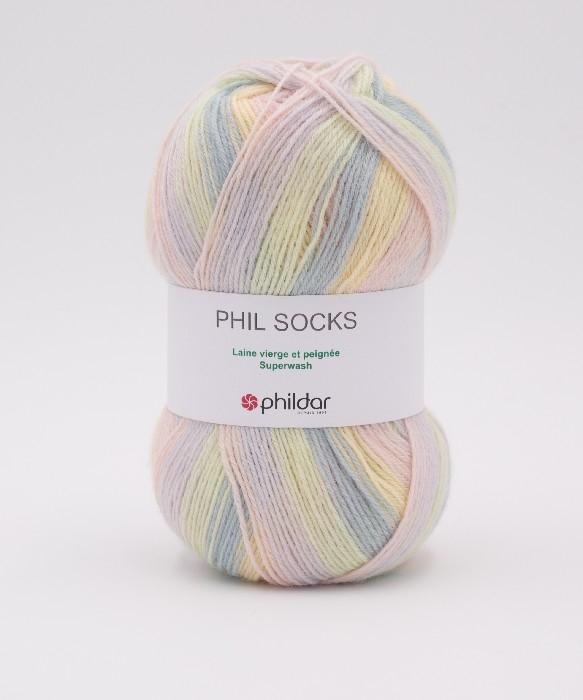 Phil socks lys