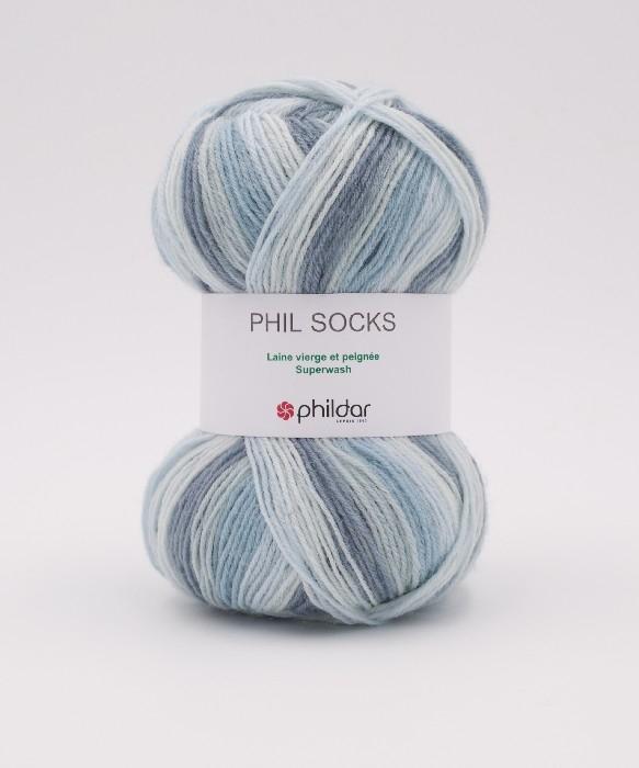 Phil socks clematite