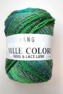 Mille Colori Socks & Lace Luxe lagune